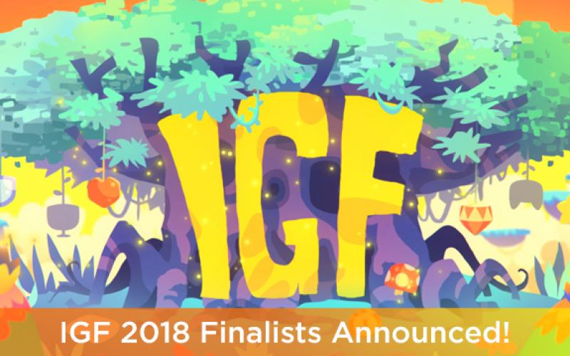 2018 IGF Finalist Announced